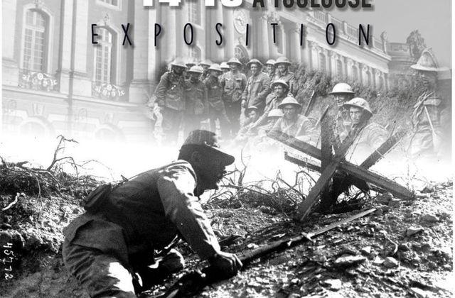 SAINT JORY - EXPOSITION LA GUERRE 1914 - 1918 A TOULOUSE