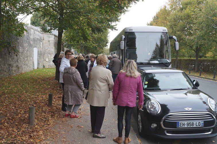 La sortie du 5 octobre à Compiègne