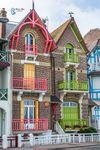 Couple de maisons à Mers-les-Bains (80)