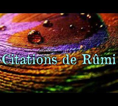 Citations de Rûmi