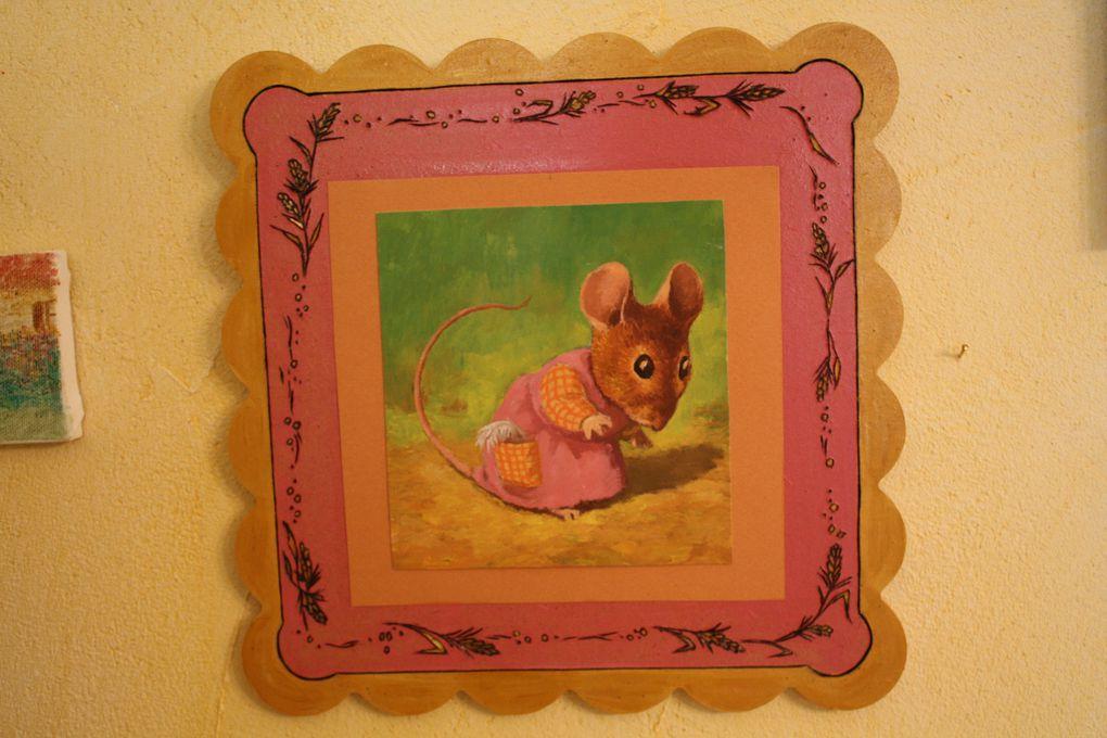 photos des plus belles réalisations de la souris verte,modèles d'exposition à commander et personnalisables pour certains.