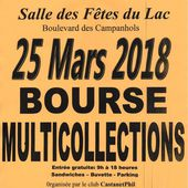Bourse multicollections 2018