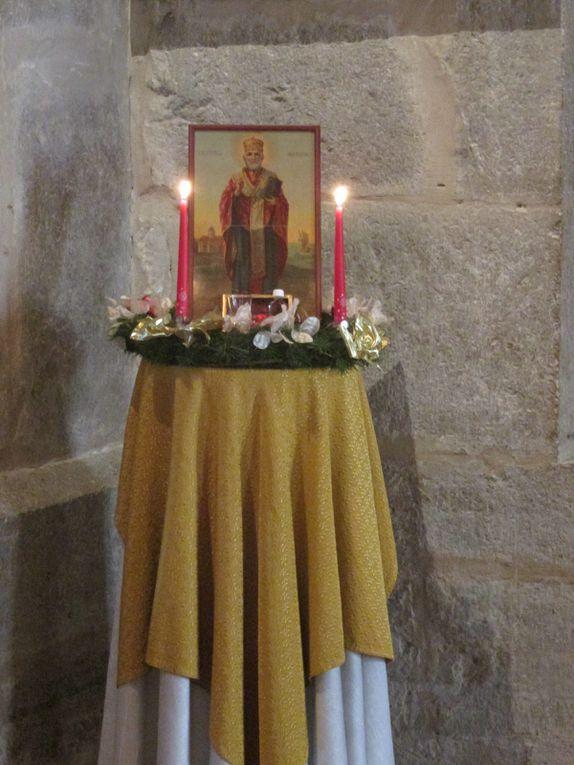 Fête de St Nicolas à Villars en .... 2015