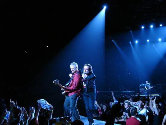 U2 -Staples Center ,Los Angeles 01/11/2005