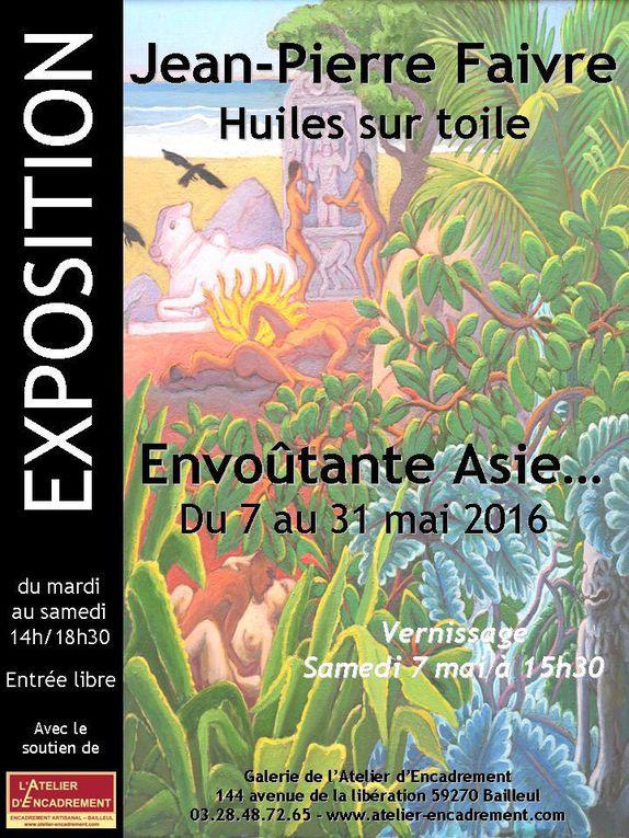 """Jean-Pierre Faivre expose une """"Envoûtante Asie"""" en Mai à la galerie de l'Atelier"""