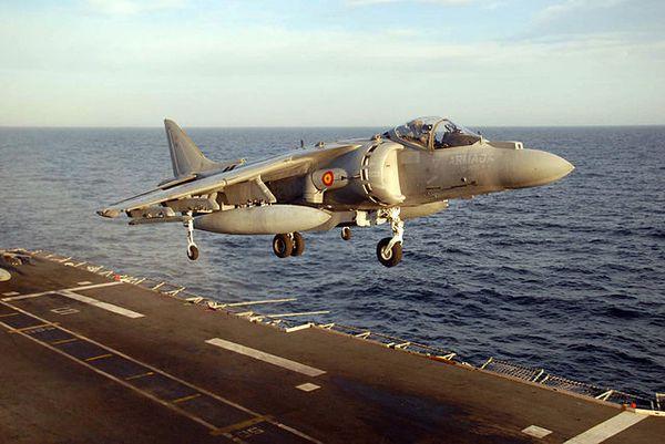 L'Espagne va moderniser ses AV-8B Harrier