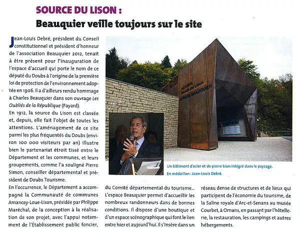 A l'origine... de l'Espace Beauquier (...)