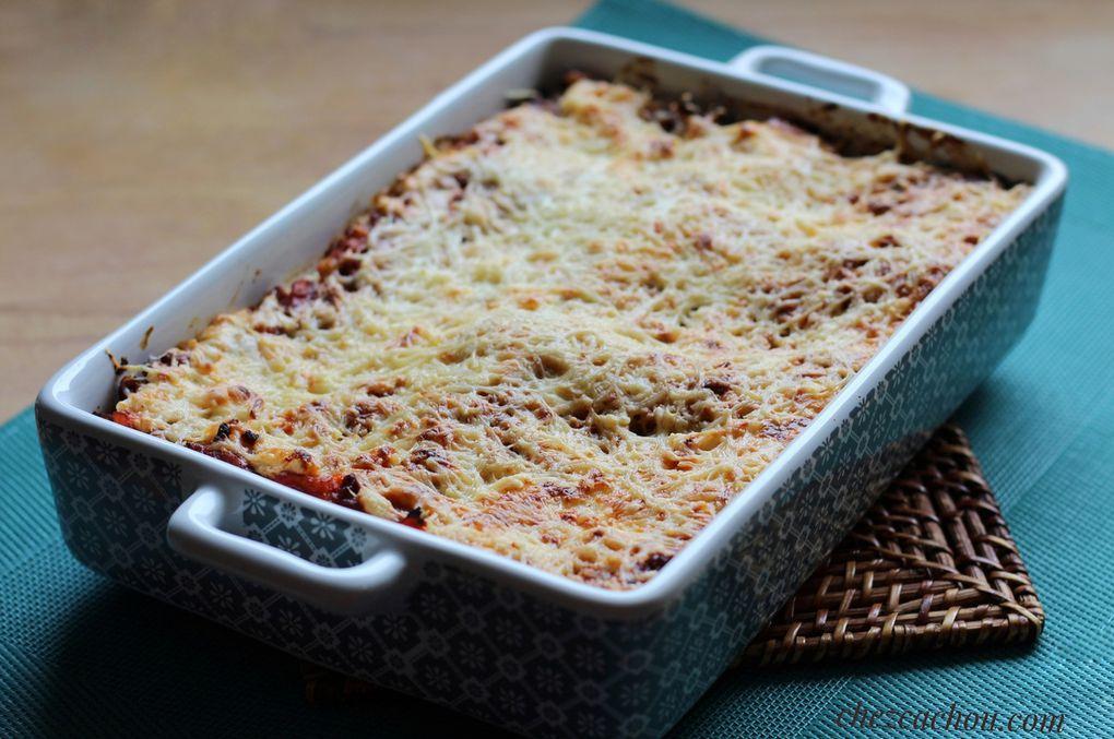 Lasagnes bolognaise version allégée