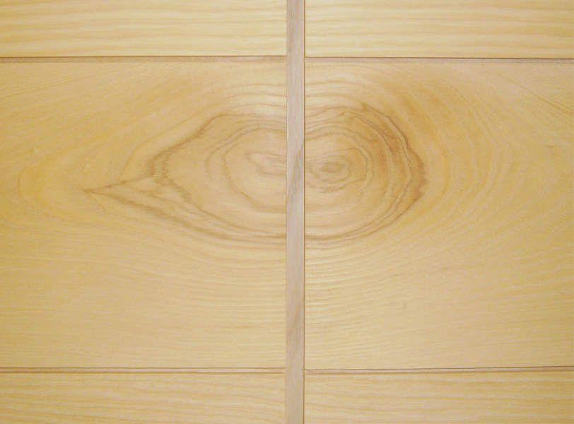 aménagement intérieur - qualité du frêne - détail central