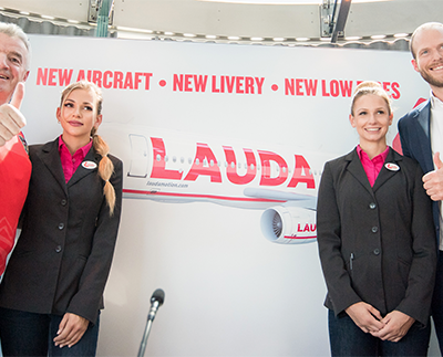 Laudamotion announces new 2019 aircraft, new livery, new offices and pay rises following Ryanair 75% purchase