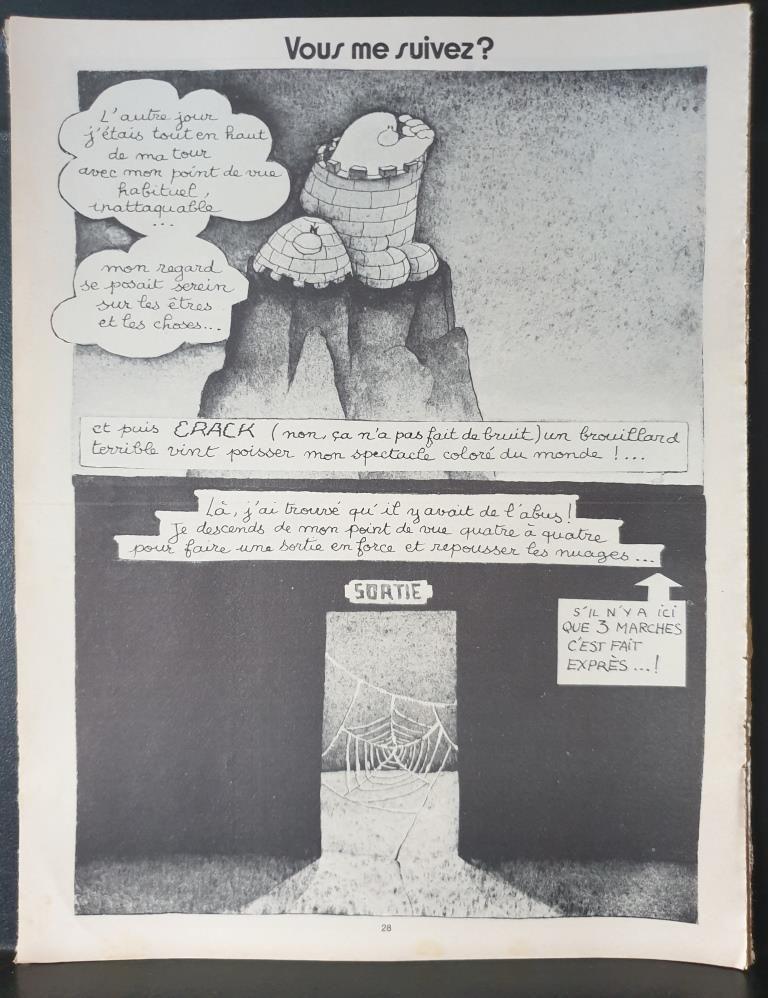 15 DESSINS ILLUSTRATIONS DE MAROL 1977's & 1978's DANS PILOTE- 12 euros