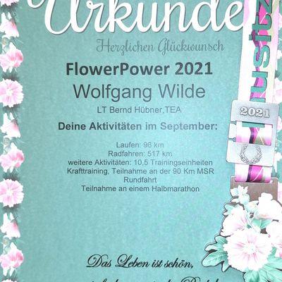 Flower Power 2021 Monat September