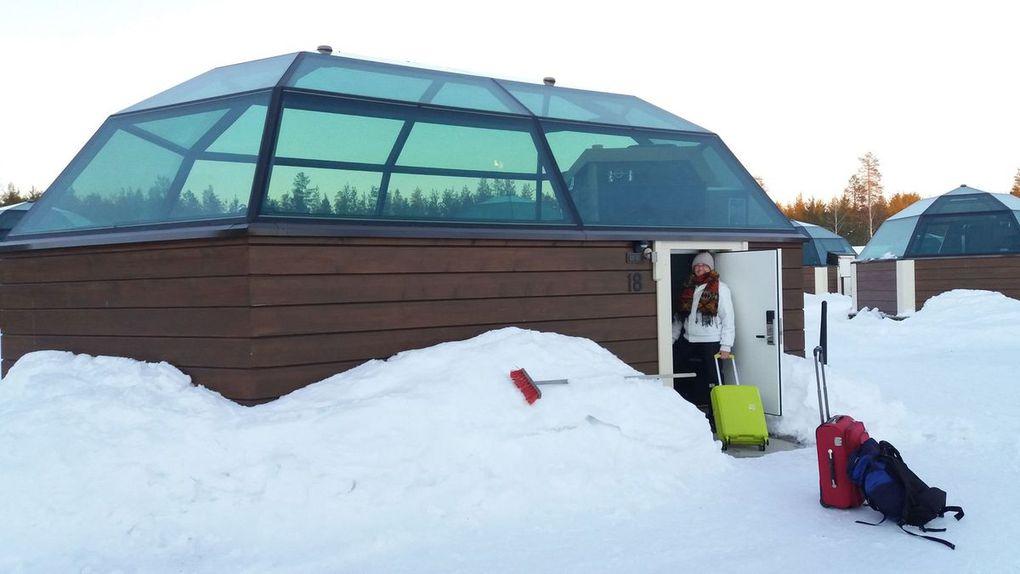 Igloo di vetro - Sinetta, Lapponia (Finlandia)