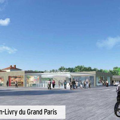 les 2 futurs gares du métro a Sevran ont un visage