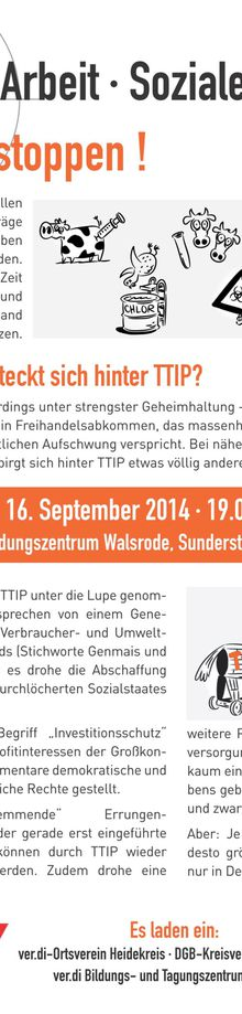 Walsrode 16.9.14 - TTIP stoppen