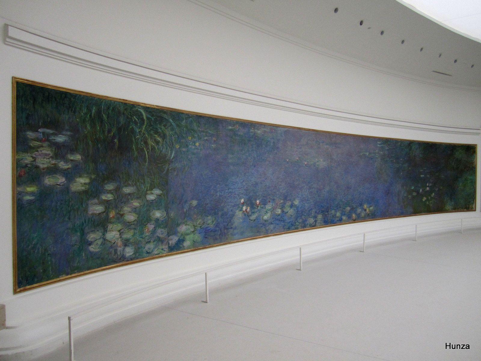 Paris, les Nymphéas au musée de l'Orangerie