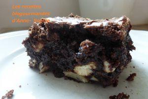 Brownies extra gourmand au chocolat noir et noix du plaisir !