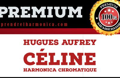 Hugues Aufray - Céline - Harmonica chromatique