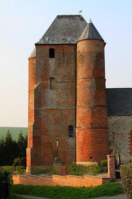 Diaporama église fortifiée de Prisces