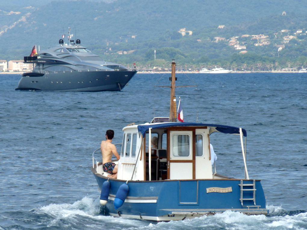 MOUETTE , appareillant du port de Saint Tropez le 09 juillet 2018