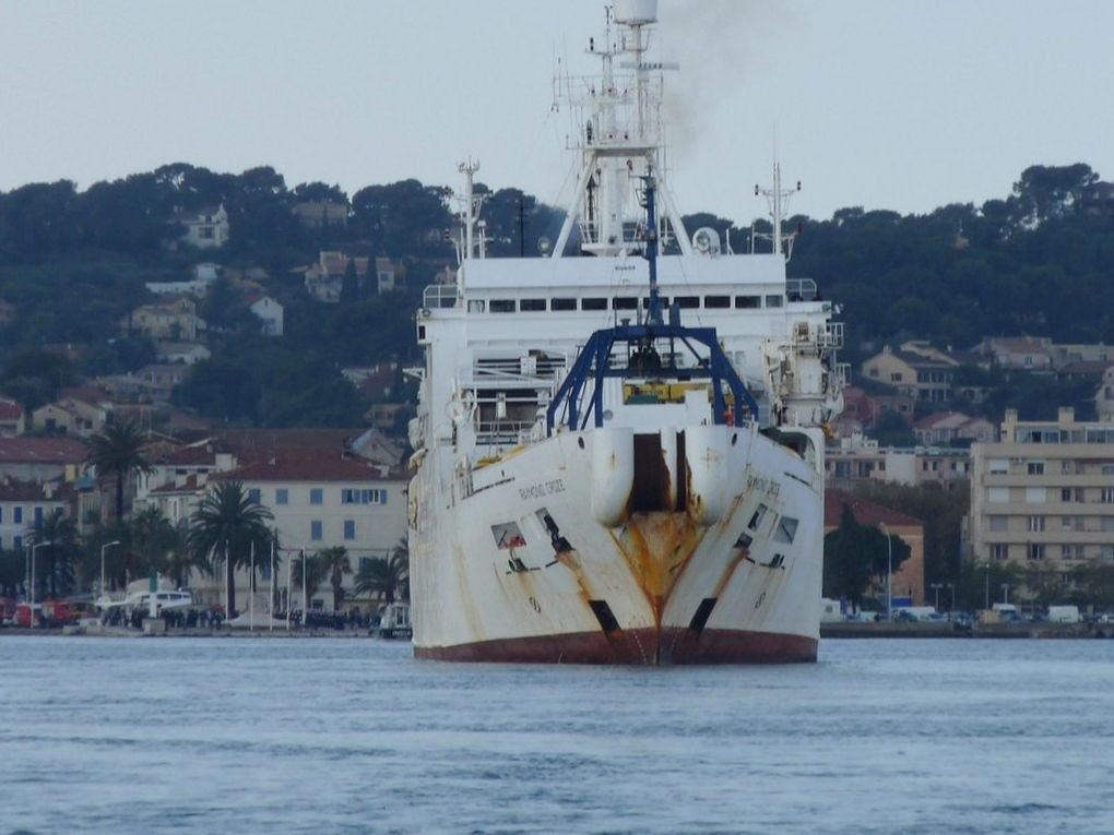 RAYMOND CROZE , navire cablier de France Télécom