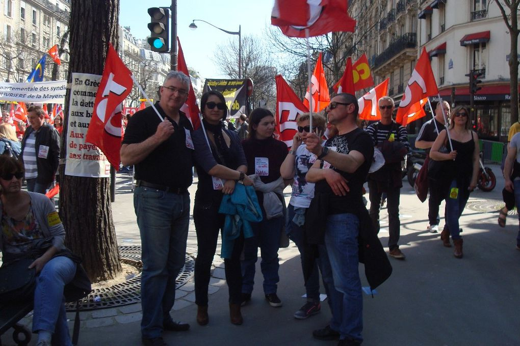 Album photo de la manif à Paris le 9 avril 2015