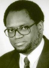 Melchior Ndadaye, premier président burundais démocratiquement élu puis assassiné par l'armée le 21 octobre 1993.