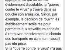 Stéphane SIROT : derrière la guerre contre le virus ... la guerre sociale