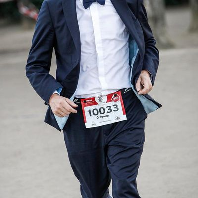 Guinness Book World Record du 24 heures couru en costume
