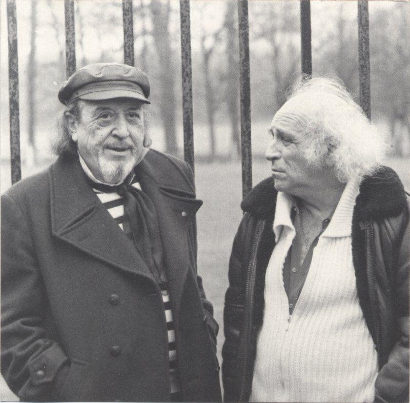 Jean-Roger Caussimon et Léo Ferré (image internet)