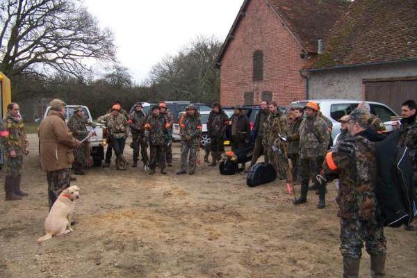 Isdes chasse du 29 novembre 2008