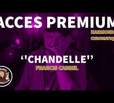 Francis Cabrel - Chandelle - Harmonica chromatique