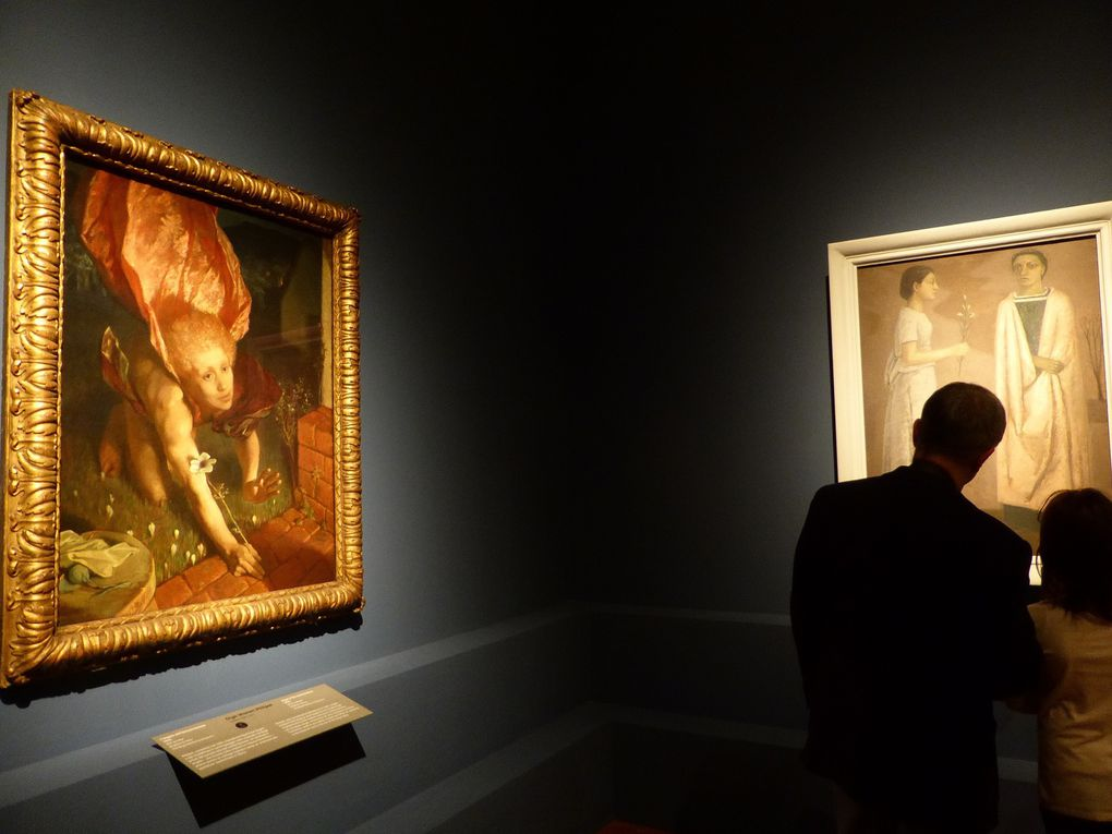 Vues de l'exposition Bellezza divina. Tra Van Gogh, Chagall e Fontana, Palazzo Strozzi, Florence © Gilles Kraemer Le Curieux des arts. Remerciements à Lavinia Rinaldi de la Fondazione Palazzo Strozzi.