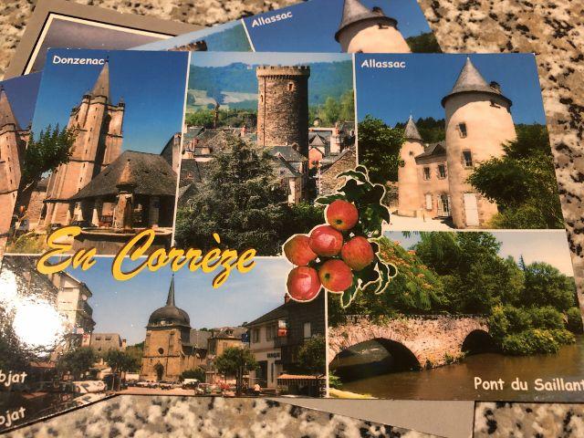 Cartes postales de la Corrèze