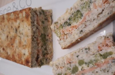 La terrine de poissons au brocoli
