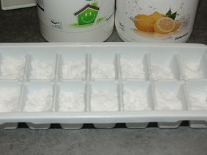 Tablettes lave vaisselle homemade