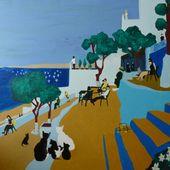 Le mythique café HAFA de Tanger continue toujours d'évoluer - Le blog de Bernard Moutin