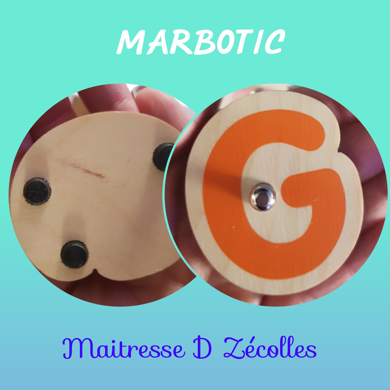 Lettres capitales MARBOTIC