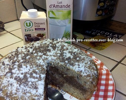 Gâteau fourré crême chocolat