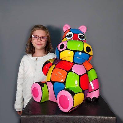 Hippo...colorés !
