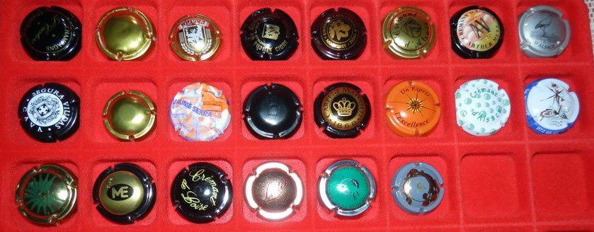 Collection: Muselets de champagne et crémant