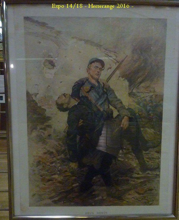"Exposition ""La Grande Guerre "" a HERSERANGE - 54 -"