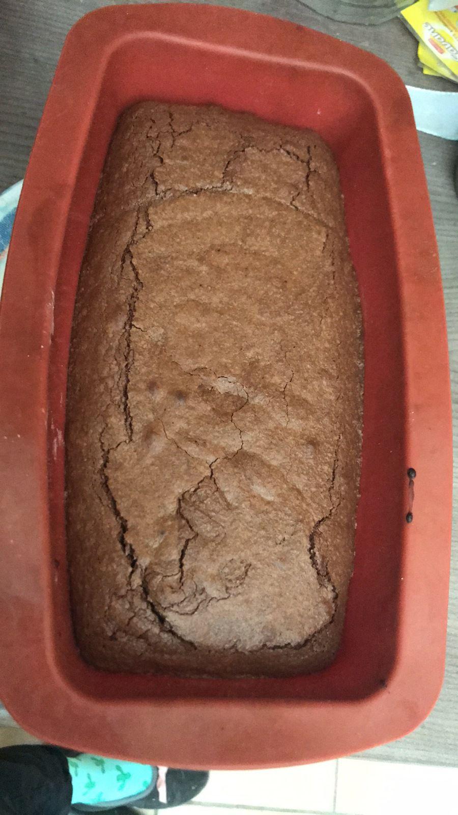 Gâteau au chocolat, gingembre et noix de pécan