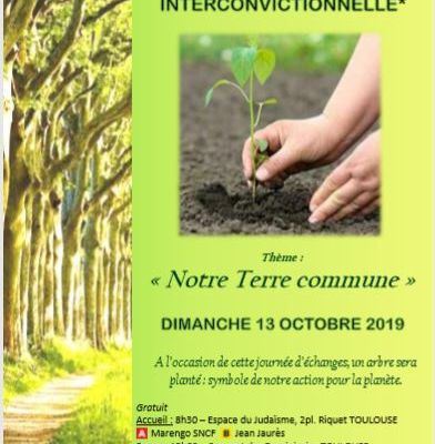 Marche interconvictionnelle 2019