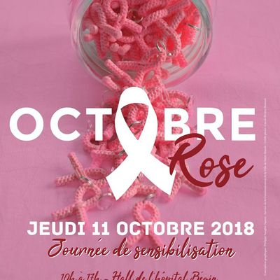 Octobre Rose 2018, hôpital Begin