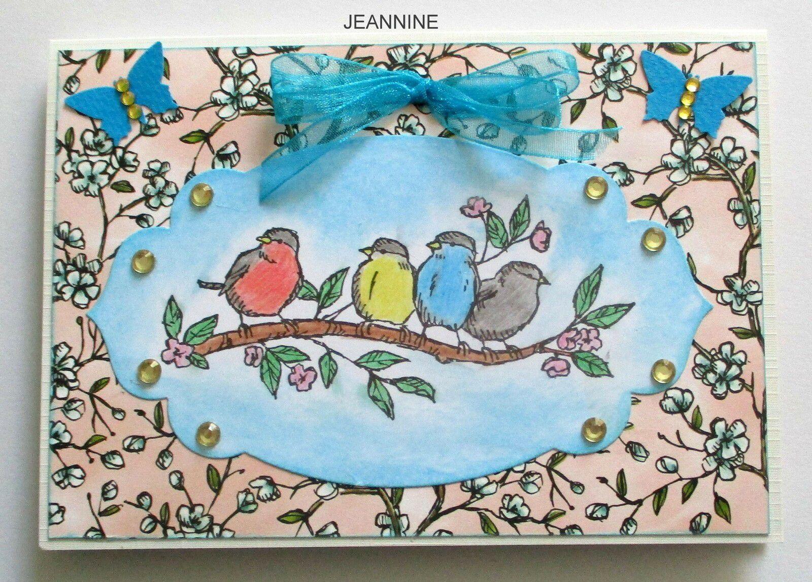 CARTE LIBRE DE NOTRE MISS JEANNINE CRISTAL 24 QUI MET LE TURBO LOL  ON AIME ON AIME!!!
