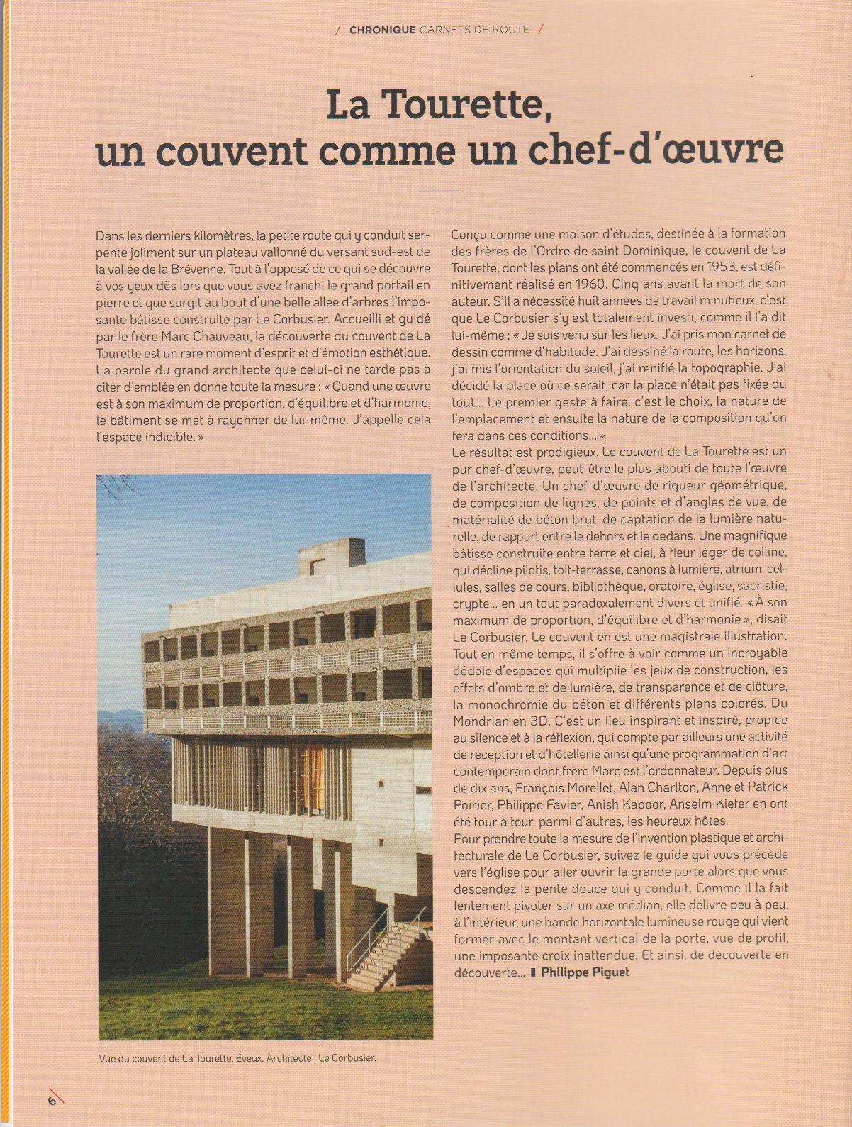 """Publications dans la revue """"/art absolument/"""", octobre-novembre 2020, n° 94..."""