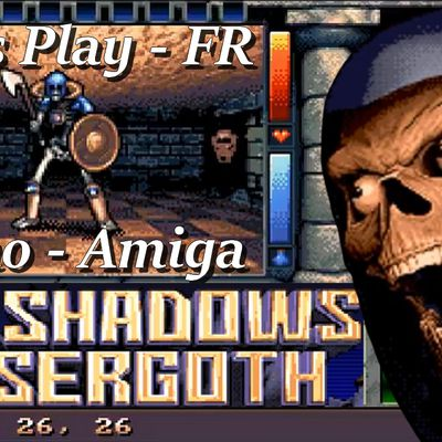 Amiga - la Demo jouable de The Shadows Of Sergoth (Dungeon Master Like)