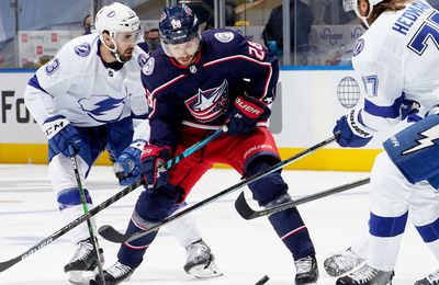 Columbus Blue Jackets / Tampa Bay Lightning en direct ce mercredi à 18h00 sur Canal+Sport !