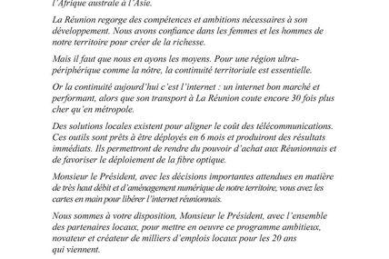 Zeop écrit une tribune à François Hollande